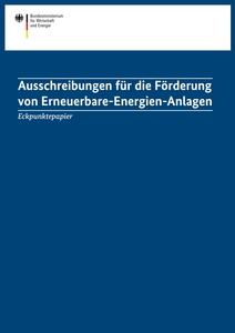 Article bild eckpunktepapier ausschreibungen erneuerbare energie